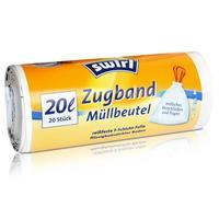 Swirl Zugband Müllbeutel 20L ( 20 stk./ Rolle )