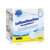 Uhu Air Max Ambiance Nachfülltabs, 2x 100g neutral Luftentfeuchter