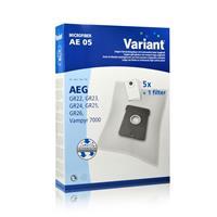 Variant AE05 Microvlies Staubsaugerbeutel + Microfilter für AEG