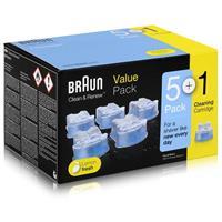 Braun Series Ersatzkartuschen mit Reinigungsflüssigkeit CCR 5+1 ( 1er Pack )