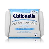 Hakle Cottonelle feuchte Toilettentücher Cotton Fresh 42 Tücher, Starterset