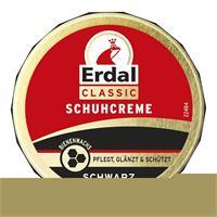 Erdal Classic Schuhcreme Schwarz - Dosencreme, pflegt, glänzt & schützt, 75 ml