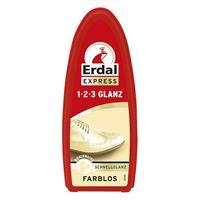 Erdal Express 1-2-3 Glanz Farblos - Schwamm - mit Bienenwachs