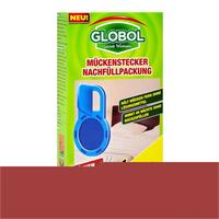 Globol Mückenstecker Nachfüllpackung - Wirkt 45 Nächte ohne nachzufüllen