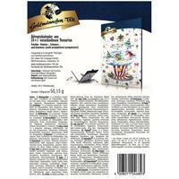 Goldmännchen-Tee Adventskalender mit 24 Türchen &  Teebeuteln 50g
