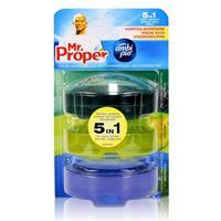 Mr.Proper Nachfüller Ambi Pur 5in1 Tea Tree & PineLemon & Lime, Fresh Water & Mint WC-Stein flüssig