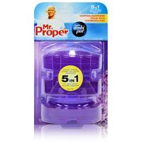 Mr.Proper Nachfüller Ambi Pur 5in1 Lavendel & Rosmarin WC-Stein flüssig, 3x55 ml