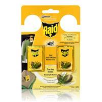 Raid Motten-Gel Zedern-Duft - Wirkt bis zu 3 Monate - Schützt Ihre Kleidung vor Motten