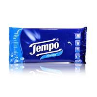 Tempo cleans Feuchte, reinigende Taschentücher, 25er