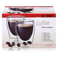 SCANPART Kaffeeglas Thermogläser 2 x 175ml