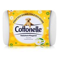 Hakle Cottonelle feuchte Toilettentücher Kamille & Aloe Vera 42 Tücher, Starterset