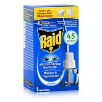 Raid Mücken Stecker Nachfüller für ca. 45 Nächte Mückenfrei