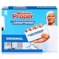 Mr.Proper Express Schmutzradierer 2 Radierer/Paket