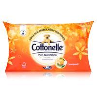 Cottonelle feuchte Toilettentücher Mein SpaErlebnis 42 Tücher Nachfüller