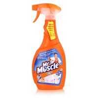 Mr Muscle Bad Total Reiniger 5in1 Orange 500 ml - Beseitigt Bakterien (1er Pack)