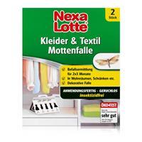 Nexa Lotte Kleider- & Textil-Mottenfalle 2 stk. - insektizidfrei