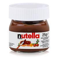 Nutella Mini Glas Brotaufstrich Schokolade 25g