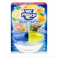 WC Frisch Duo Aktiv WC Reiniger und Duftspüler Lemon