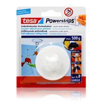 tesa Powerstrips Selbstklebender Deckenhaken - weiß