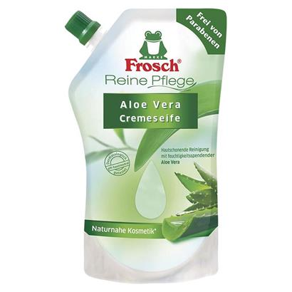 frosch reine pflege aloe vera cremeseife 500 ml nachf llbeutel. Black Bedroom Furniture Sets. Home Design Ideas