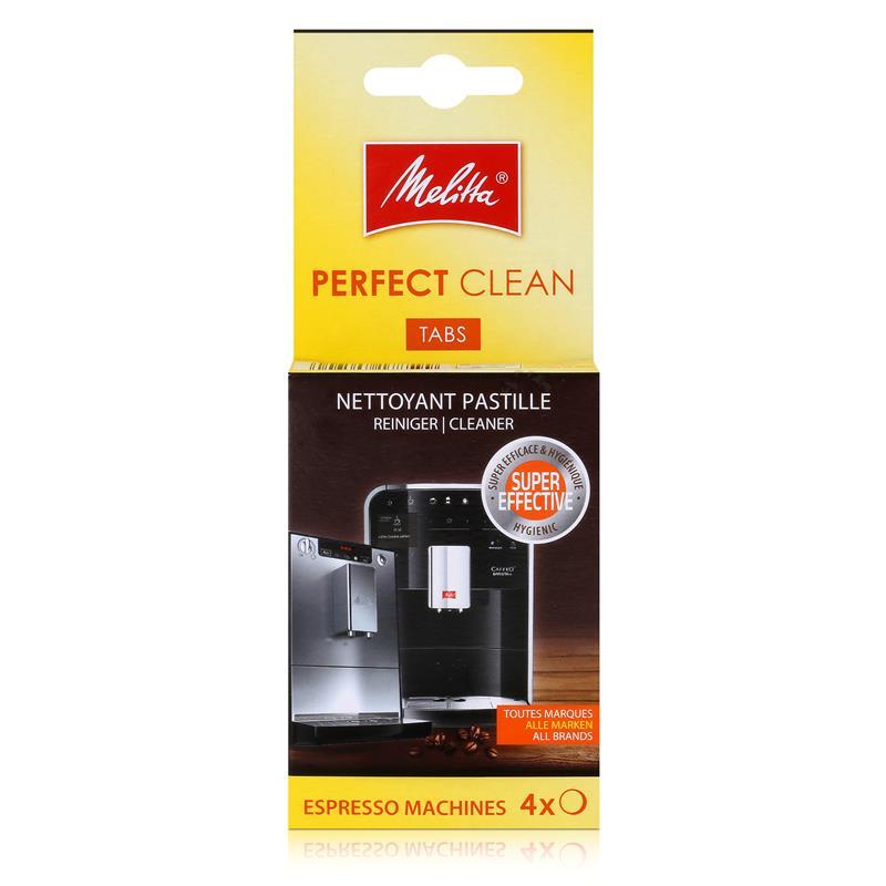Melitta Perfect Clean Espresso Machines ReinigungsTabs 4x1,8g (1er Pack)