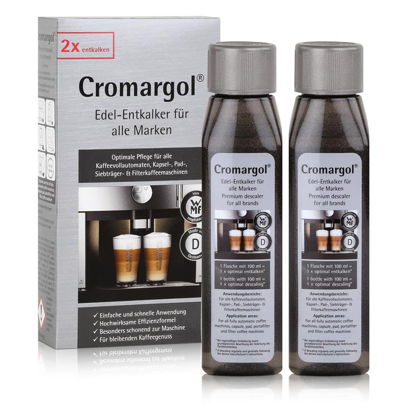 wmf cromargol edel entkalker f r kaffeevollautomaten uvm 2x100ml 1er pack. Black Bedroom Furniture Sets. Home Design Ideas