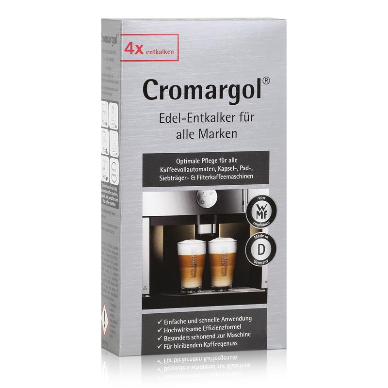 wmf cromargol edel entkalker f r kaffeevollautomaten 4x100ml 1er pack. Black Bedroom Furniture Sets. Home Design Ideas