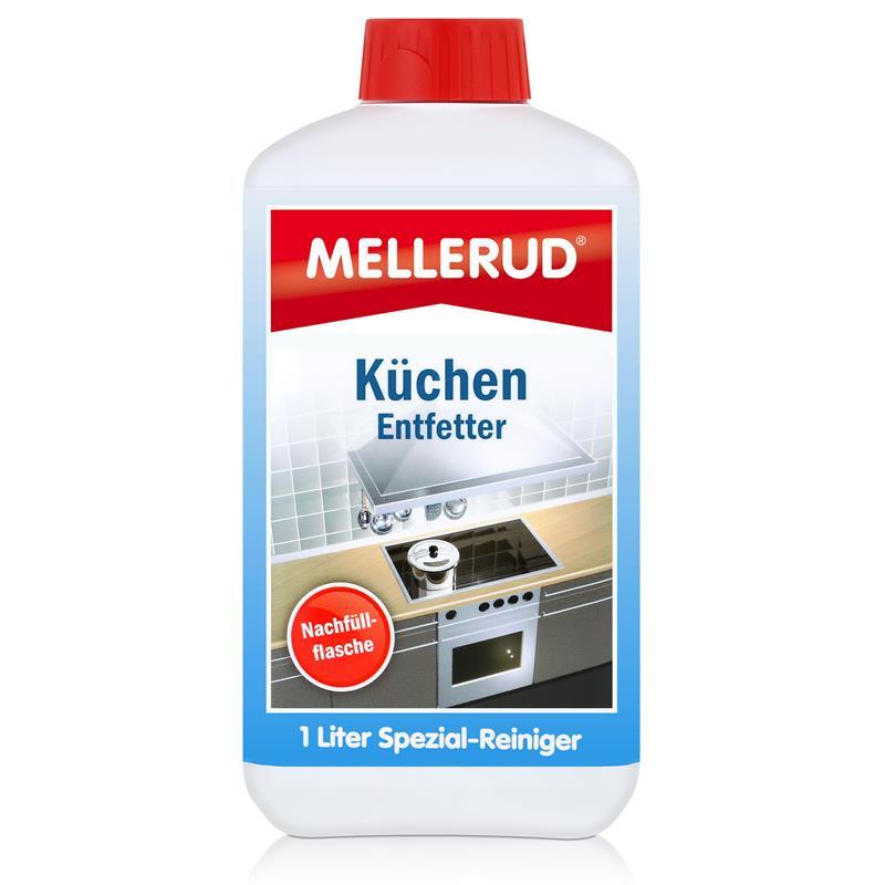 Mellerud Küchen Entfetter 1 L Nachfüller - fettfreie und hygienische Sauberkeit