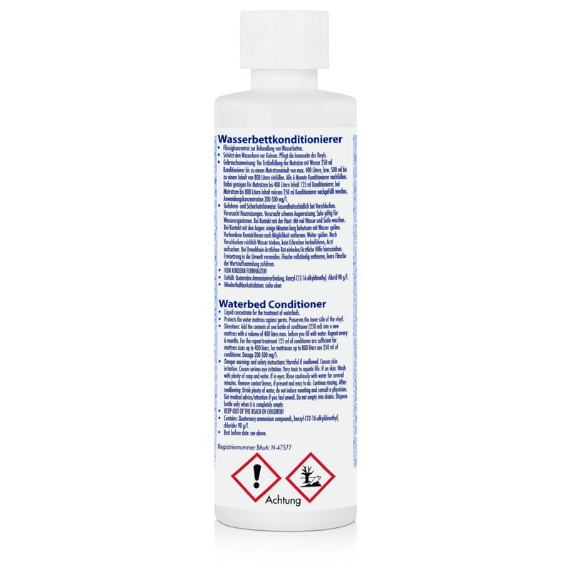 AguaNova Wasserbett Conditioner 125 ml, für Wasserbetten - Konditionierer