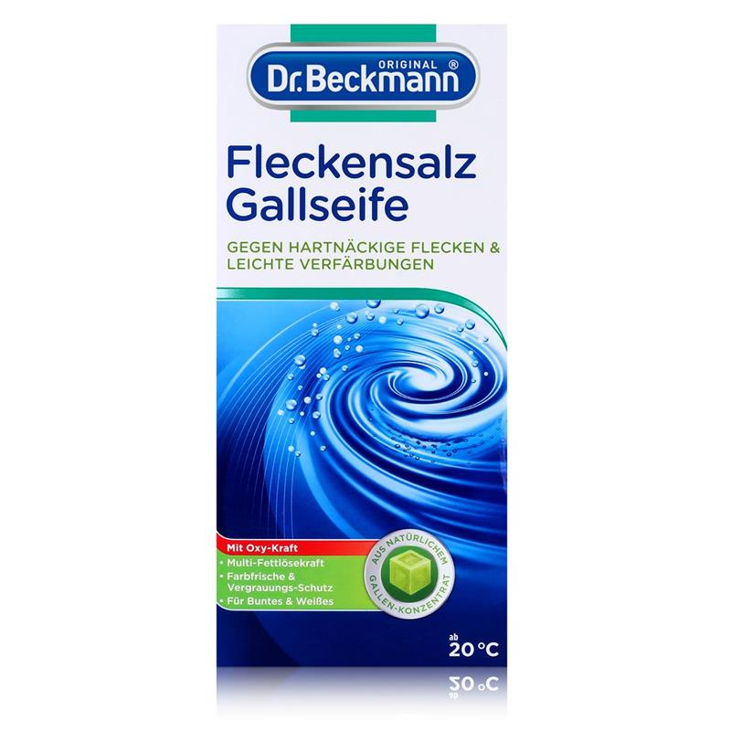 Dr. Beckmann Flecken Salz Intensiv 500g - Gegen hartnäckige Flecken & leichte Verfärbungen