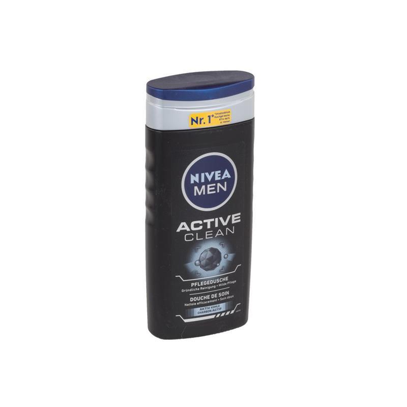 Nivea Men Active Clean Pflegedusche, Duschgel 250 ml ( 1er Pack )