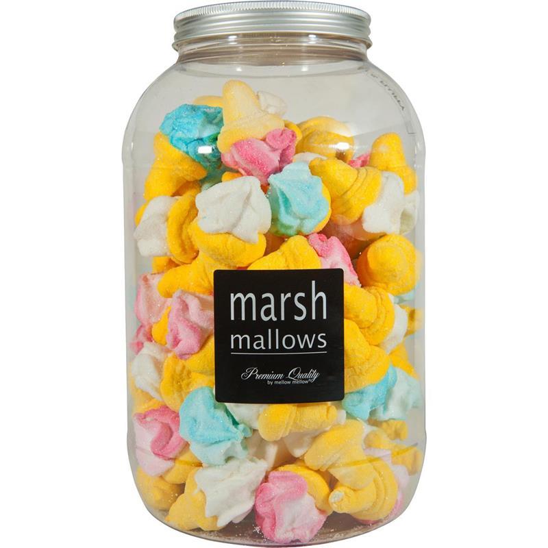 Mellow Marshmallows Eishörnchen bunt 80 Stk. in der Retrodose (1er Pack)