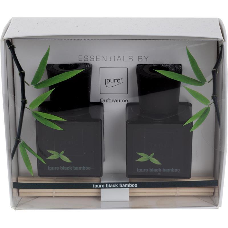 Geschenkset Essentials by Ipuro Black Bamboo 2x 50ml (1er Pack)