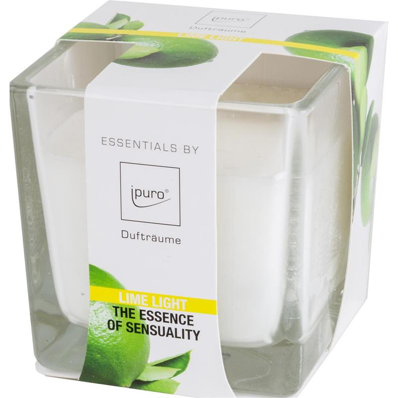 Essentials by Ipuro Duftkerze Lime Light 170g (1er Pack)