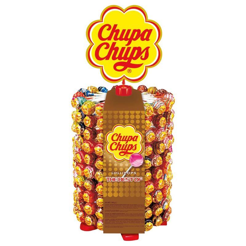 Chupa Chups Lutscherrad - 200 Lutscher