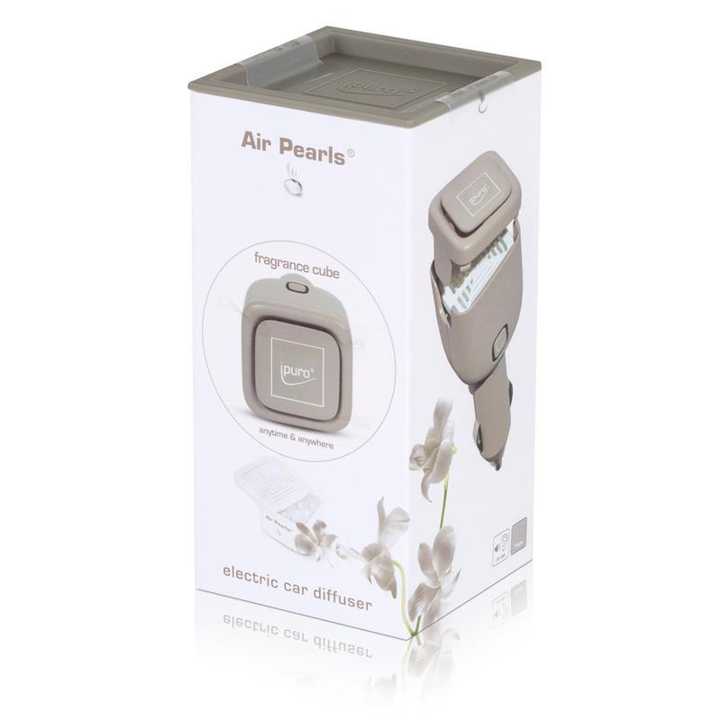 Air Pearl by ipuro Raumbedufter Autostecker Taupe - Autoduft
