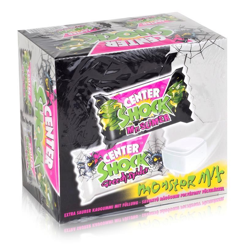 Center Shock Monster Mix 100 Stück - Extra saure Kaugummifüllung