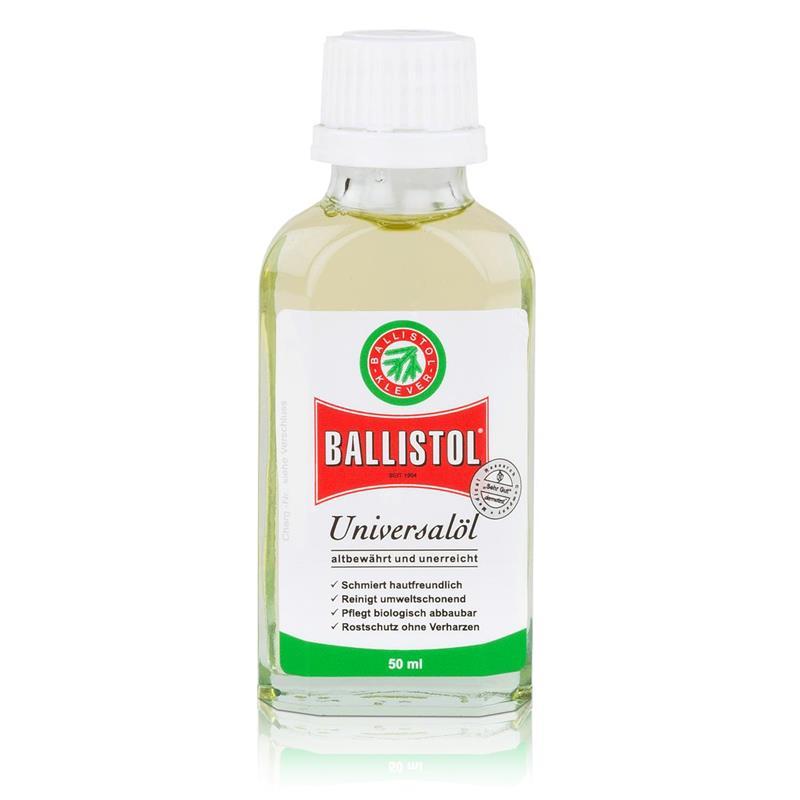 Ballistol Universalöl Flasche 50ml - Rostschutz ohne Verharzen (1er Pack)