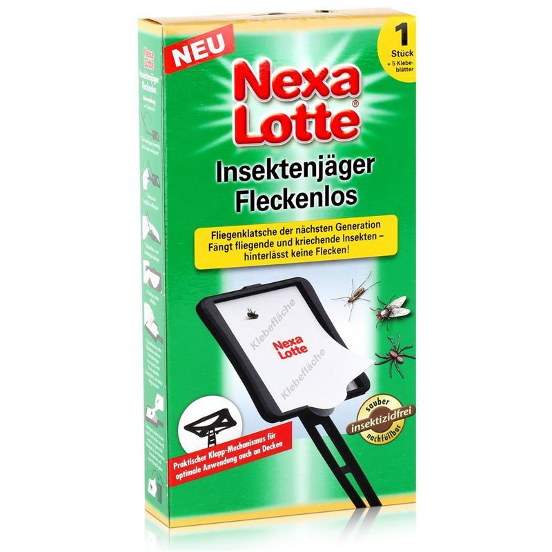 Nexa Lotte Insektenjäger Fleckenlos Fliegenklatsche - einfach & sauber