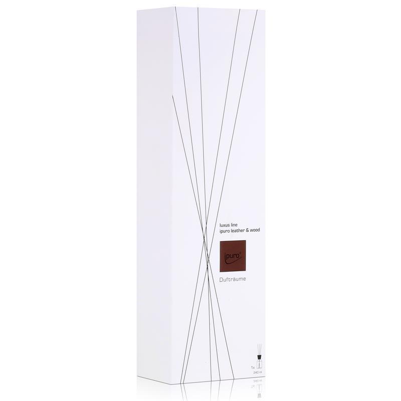 ipuro luxus line leather wood 240ml raumduft 1er pack. Black Bedroom Furniture Sets. Home Design Ideas