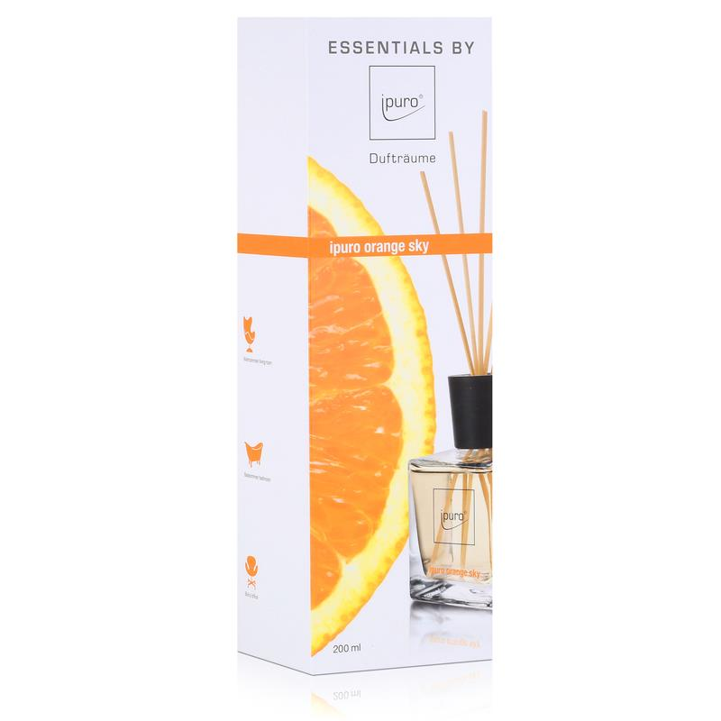 Essentials by Ipuro orange sky 200ml Raumduft Dufträume (1er Pack)