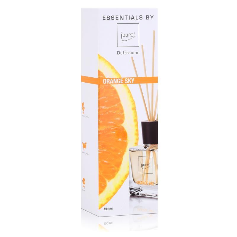 essentials by ipuro orange sky 100ml raumduft duftr ume 1er pack. Black Bedroom Furniture Sets. Home Design Ideas