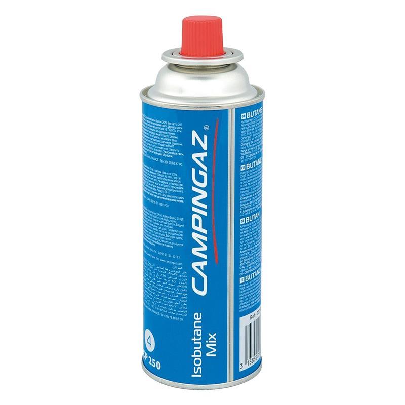 Campingaz Ventil-Gaskartusche CP 250 - 450ml Isobutane Mix (1er Pack)
