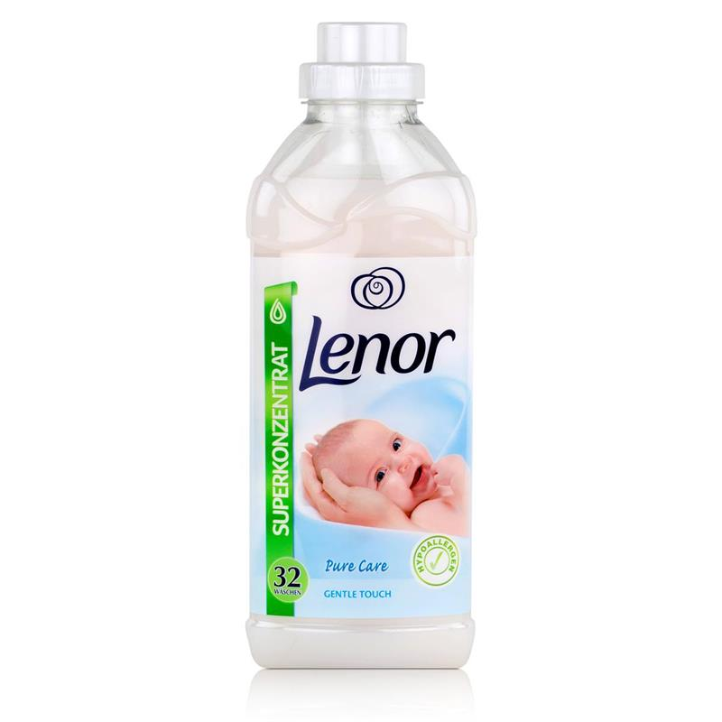 lenor pure care gentle touch weichsp ler 800ml. Black Bedroom Furniture Sets. Home Design Ideas