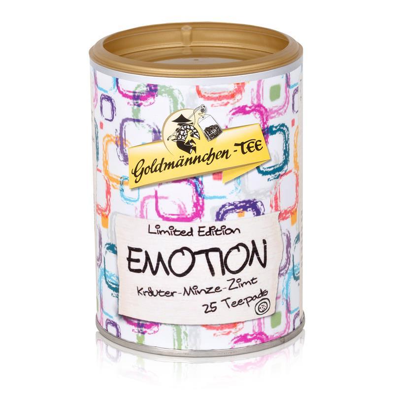 Goldmännchen-Tee Emotion 25 Teepads 50g - Kräuter-Minze-Zimt (1er Pack)
