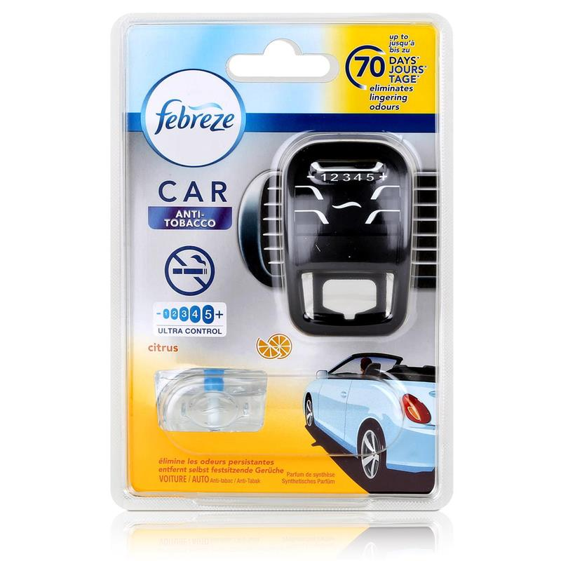 febreze car fresh escape auto lufterfrischer starter anti tobacco 1er pack. Black Bedroom Furniture Sets. Home Design Ideas