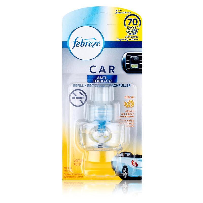 Febreze Car Fresh Escape Auto Lufterfrischer Anti-Tobacco Nachfüller (1er Pack)