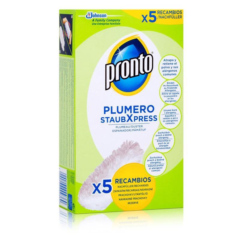 Pronto Plumero StaubXpress Nachfüllpack ohne Griff - 5 Faserköpfe