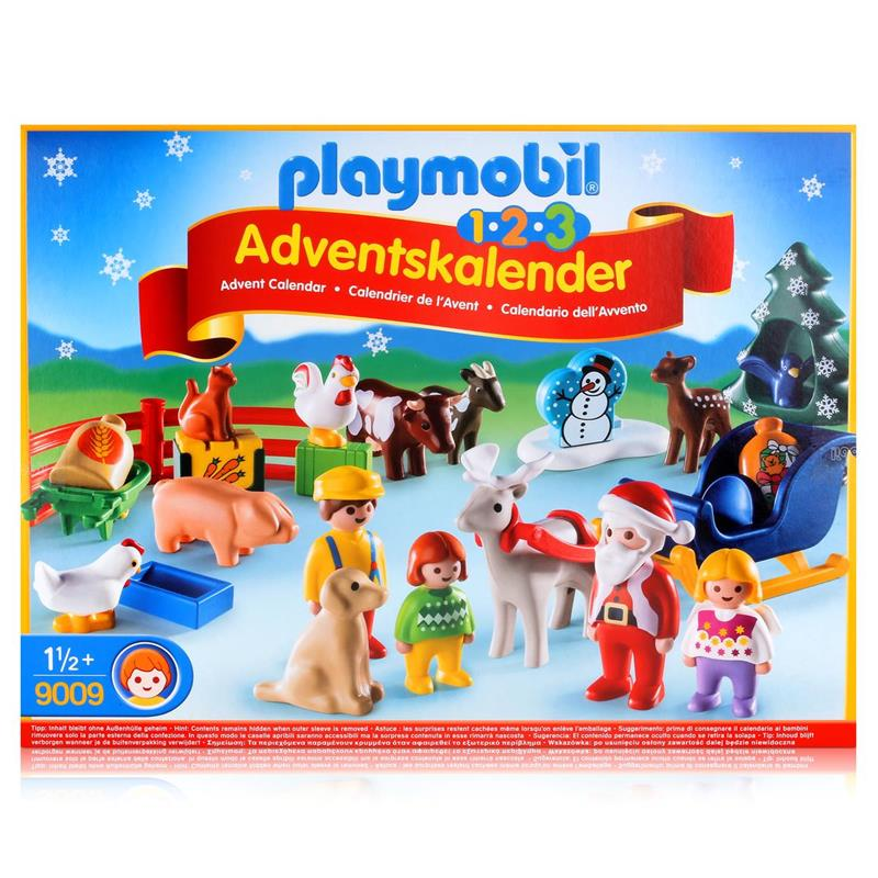 playmobil adventskalender 9009 weihnacht auf dem bauernhof. Black Bedroom Furniture Sets. Home Design Ideas