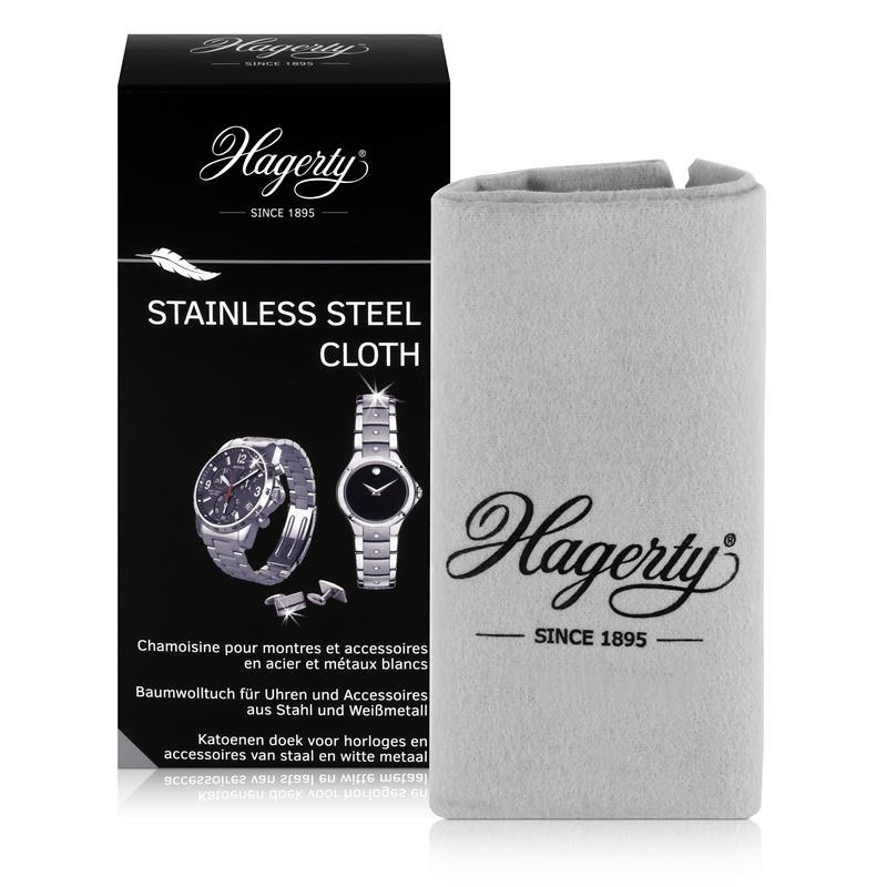 Hagerty Stainless Steel Cloth - Baumwolltuch für Uhren 36x30cm